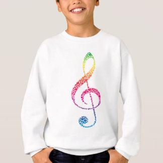 Agasalho Meu coração está na música (branca)