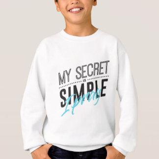 Agasalho Meu segredo é simples mim Pray