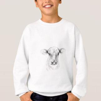 Agasalho MOO uma vaca nova do jérsei