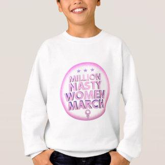 Agasalho Mulheres desagradáveis março para a camisola de