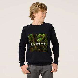 Agasalho Na camisola mágica da floresta dos meninos