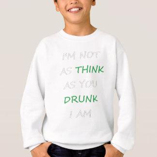 Agasalho Não como o bebado