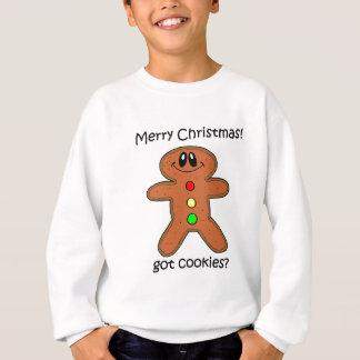 Agasalho Natal do homem de pão-de-espécie