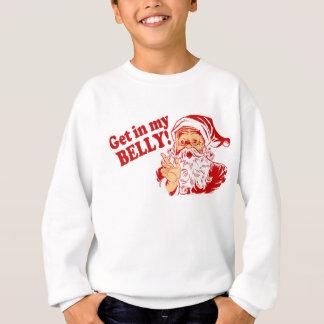 Agasalho Natal engraçado de Papai Noel