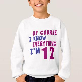 Agasalho Naturalmente eu sei que tudo eu sou 12