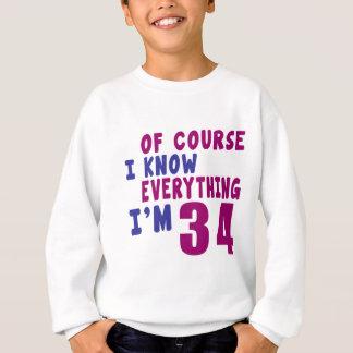 Agasalho Naturalmente eu sei que tudo eu sou 34