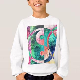 Agasalho Nebulosa abstrata de Yin Yang