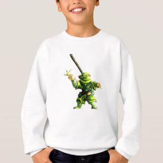 Agasalho Ninja no verde