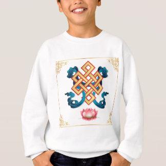 Agasalho Nó infinito do símbolo da religião do Mongolian