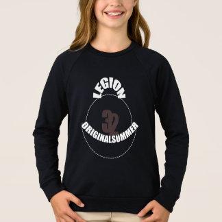 Agasalho numbersWHITE mágico do t-shirt camuflado