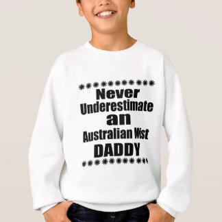 Agasalho Nunca subestime o pai australiano da névoa