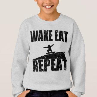 Agasalho O acordar come a repetição #2 do Snowboard (o