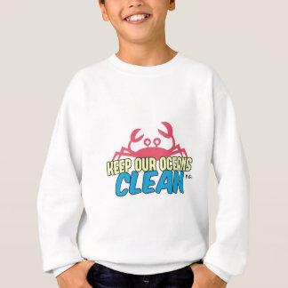 Agasalho O ambiente mantem nosso slogan limpo dos oceanos