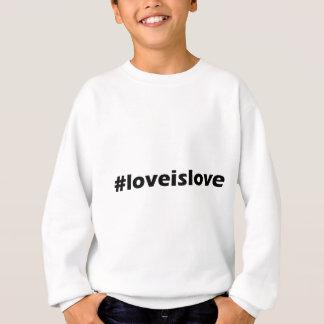 Agasalho O amor é roupa do apoio do amor LGBT