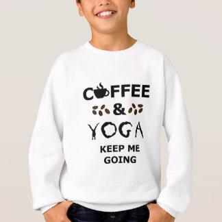 Agasalho O café e a ioga mantêm-se ir