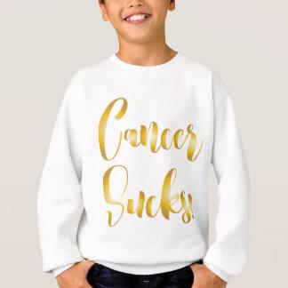 Agasalho o cancer suga a pia batismal extravagante do ouro