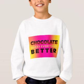 Agasalho O chocolate faz tudo melhor