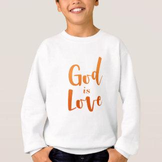 Agasalho O deus é amor - espiritual e religioso