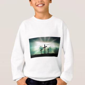 Agasalho O deus transversal Jesus da fé do cristo nubla-se