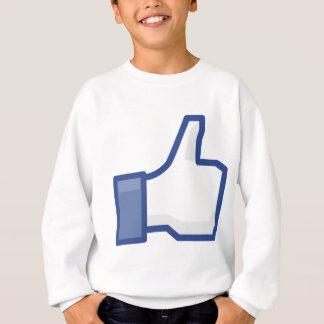 Agasalho o facebook GOSTA de me de manusear acima!