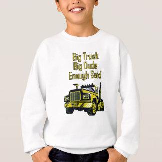 Agasalho O gajo grande do caminhão grande bastante disse