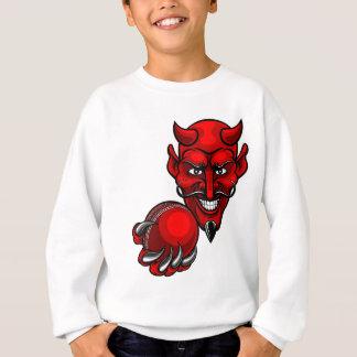 Agasalho O grilo do diabo ostenta a mascote