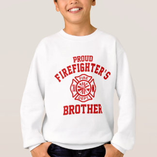 Agasalho O irmão do sapador-bombeiro orgulhoso
