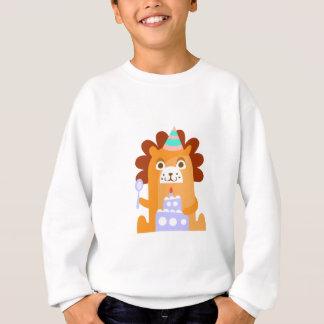 Agasalho O leão com partido atribui Funky estilizado