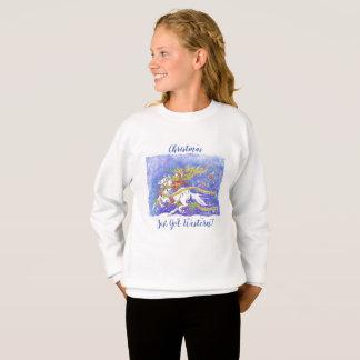 """Agasalho O """"Natal apenas obteve ocidental!"""" A camisola da"""