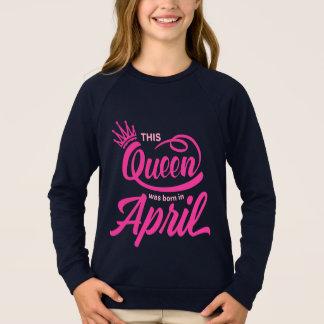 Agasalho O Queens é nascido em abril