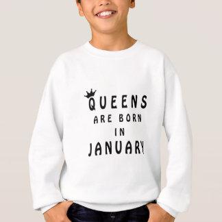 Agasalho O Queens é nascido em janeiro