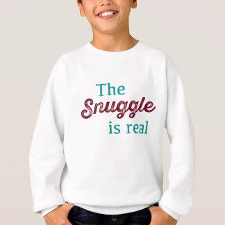 Agasalho O Snuggle é cerceta real e Borgonha engraçadas