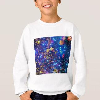 Agasalho O universo e os planetas comemoram a vida com um