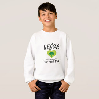 Agasalho O Vegan do T-SHIRT do VEGAN não é uma dieta que é