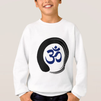 Agasalho Ohm Aum OM da oração da meditação do círculo do
