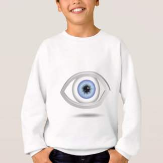 Agasalho olhos azuis