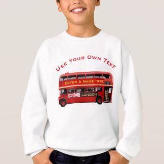 Agasalho Ônibus do autocarro de dois andares de Londres do