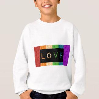 Agasalho Orgulho da etiqueta LBGT do amor e apoio do aliado