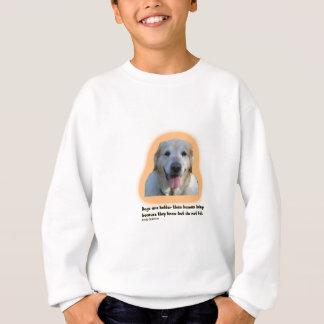 Agasalho Os cães são melhores do que seres humanos
