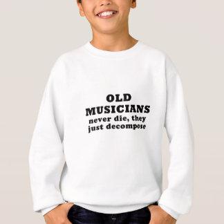 Agasalho Os músicos idosos nunca morrem eles apenas