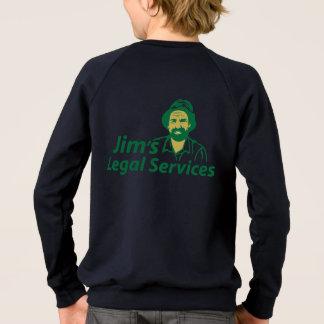 Agasalho Os serviços jurídicos de Jim