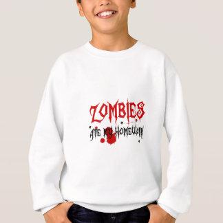 Agasalho Os zombis comeram meus trabalhos de casa