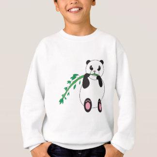 Agasalho Panda que come a camisola de bambu