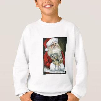 Agasalho Papai noel & camisola dos miúdos da arte do cão de