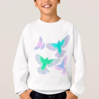 Agasalho Pássaros Pastel