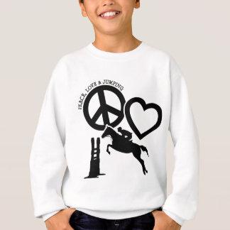 AGASALHO PEACE-LOVE-JUMPING