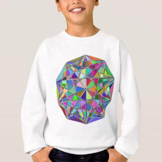 Agasalho Pedra de gema tirada Kaleidescope colorida