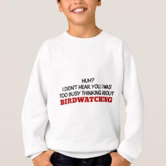 Agasalho Pensamento demasiado ocupado sobre Birdwatching