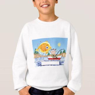Agasalho Pesca, pescador - desenhos animados personalizados