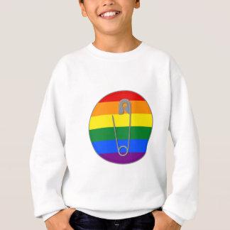 Agasalho Pin de segurança dos direitos dos homossexuais